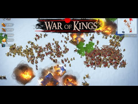 War Of King | RTS Android Game 2020 | #2 GamePlay