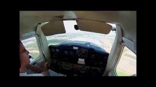 typical lesson שיעור טיסה טיפוסי בקורס טיס פרטי