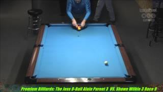 Alain Parent VS  Shaun Wilkie  The Joss Tour at Premium Billiards