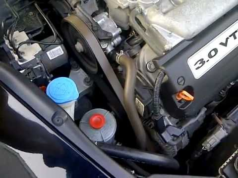 2005 accord V6 pulley noise  YouTube