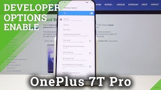 How to Unlock Developer Options in OnePlus 7T Pro - Developer Features