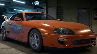 Toyota Supra SZR 1997 - Need For Speed 2016 - Test Drive Gameplay (PC HD) [1080p60FPS]