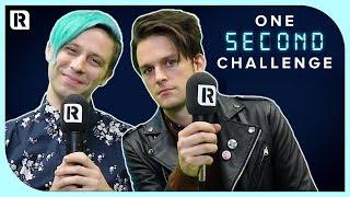 iDKHOW's Dallon Weekes vs Ryan Seaman - One Second Challenge