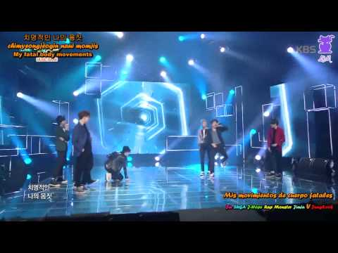 Heungtan Boys - BTS (Live)(Sub español+ColorCoded+Han+Rom+Eng sub)