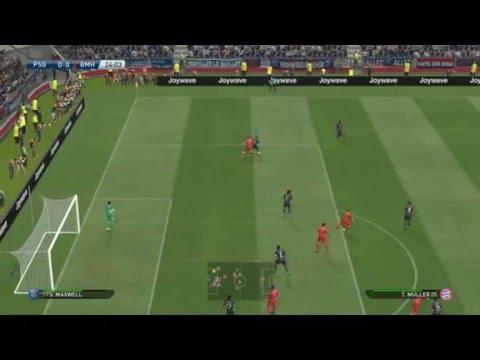 Paris Saint Germain (PSG) Vs Bayern Munchen-Pro Evolution Soccer 2016 (PES16)