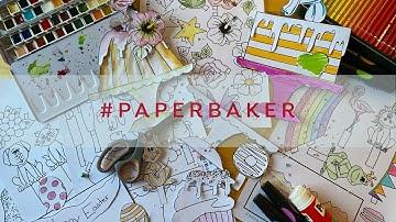 #PaperBaker – Heute Backen wir – mit Schere und Papier | Betty´s Sugar Dreams
