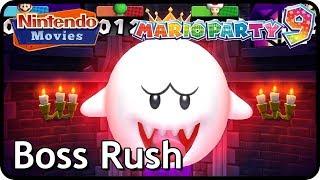 Mario Party 9 - Boss Rush (Multiplayer, All Bosses)