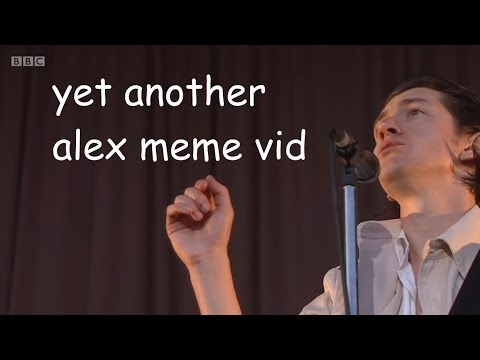 alex turner BACK AT IT AGAIN with the MEMES