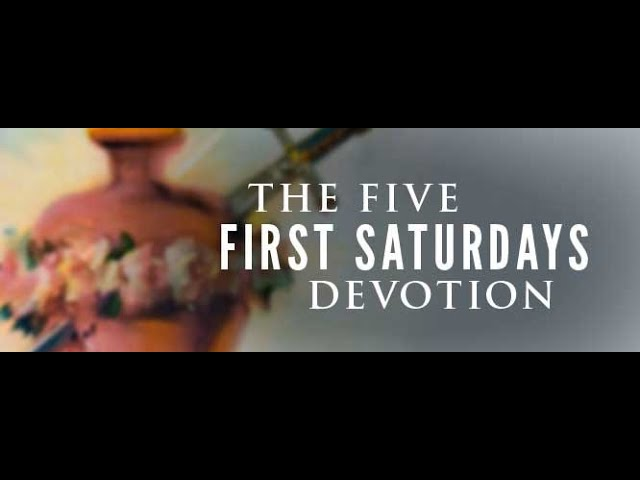 The Five First Saturdays - CatholicKids101.com