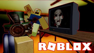 INTENSE ROBLOX SAW GAMEPLAY