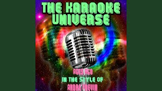 Ages Ago (Karaoke Version) (In the Style of Andre Previn)
