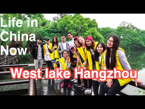 CHINA VLOG TOUR TO HANGZHOU WEST LAKE