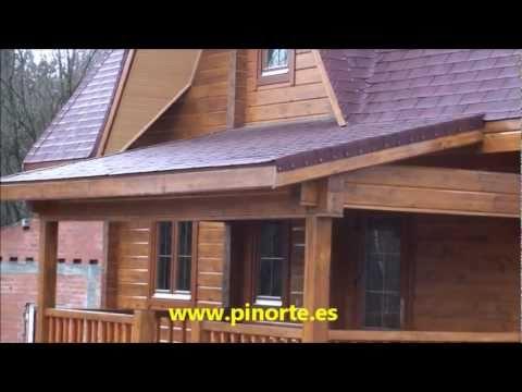 Pinorte n 38 lugo 2011 chalets de madera youtube - Chalet de madera ...