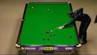 Final Frame Ronnie vs Hendry Semi Final Snooker World's 2008