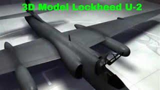3D Model Lockheed U-2
