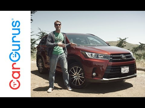 2017 Toyota Highlander Cargurus Test Drive Review Youtube