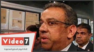 """بالفيديو.. رئيس هيئة البريد : """" مصر ثالث دولة فى العالم أصدرت الطوابع البريدية """""""