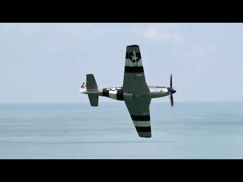 """🇺🇸 Pure P-51 Mustang Whistle Sounds """" Angels On Our Shoulders """""""