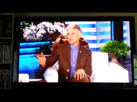 Tyler Oakley on Ellen
