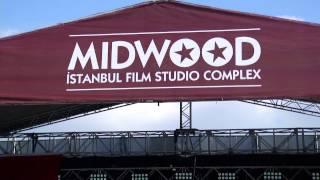 Midwood İstanbul Film Stüdyo sahası havadan