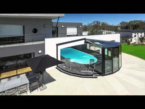 l 39 abri de piscine en 2013 par akena verandas pool enclosure in 2013 by akena youtube. Black Bedroom Furniture Sets. Home Design Ideas