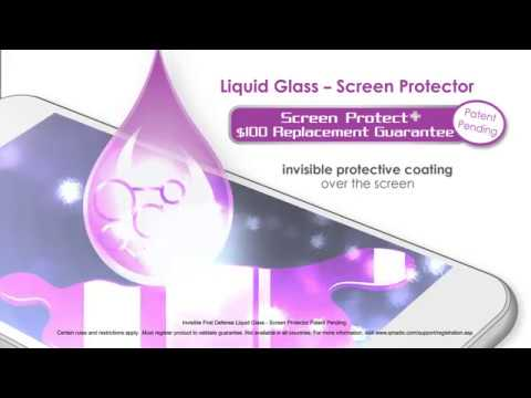 How to apply Invisible First-Defense+ Liquid Glass Screen