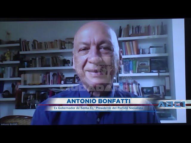 (Adelanto) Antonio Bonfatti, ex gobernador de Santa Fe - ABC1 25 10 2020