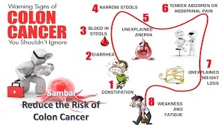 Sambar Reduce the Risk of Colon Cancer
