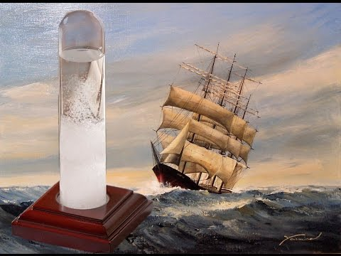 Unbox & Review : Fitzroy's Storm Glass (A wee Bit Of 18th Century Science) + Timelapse :o)