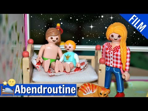 playmobil-film-deutsch---abendroutine-mit-familie-fröhlich---playmogeschichten---kinderfilm