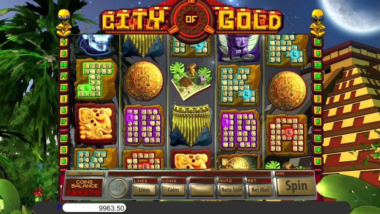 City of Gold Slot Machine