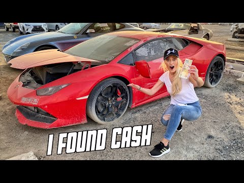 Abandoned Supercars in Dubai!