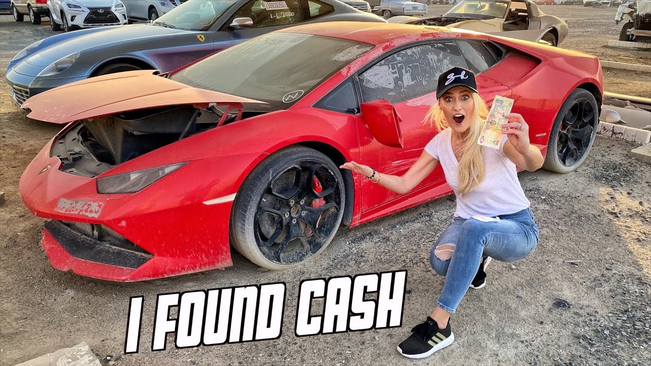Abandoned Supercars In Dubai Youtube