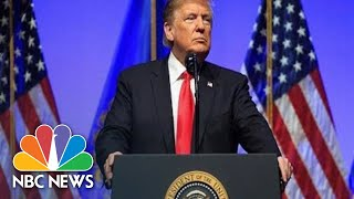 Watch Live: President Donald Trump Attends The 'Our Pledge To America's Workers' Event | NBC News