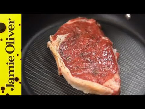 Thumbnail: How To... cook steak, with Jamie Oliver's mate Pete