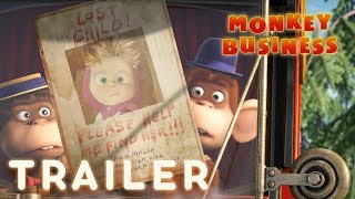 Masha and the Bear - Monkey Business 🐒(Trailer)
