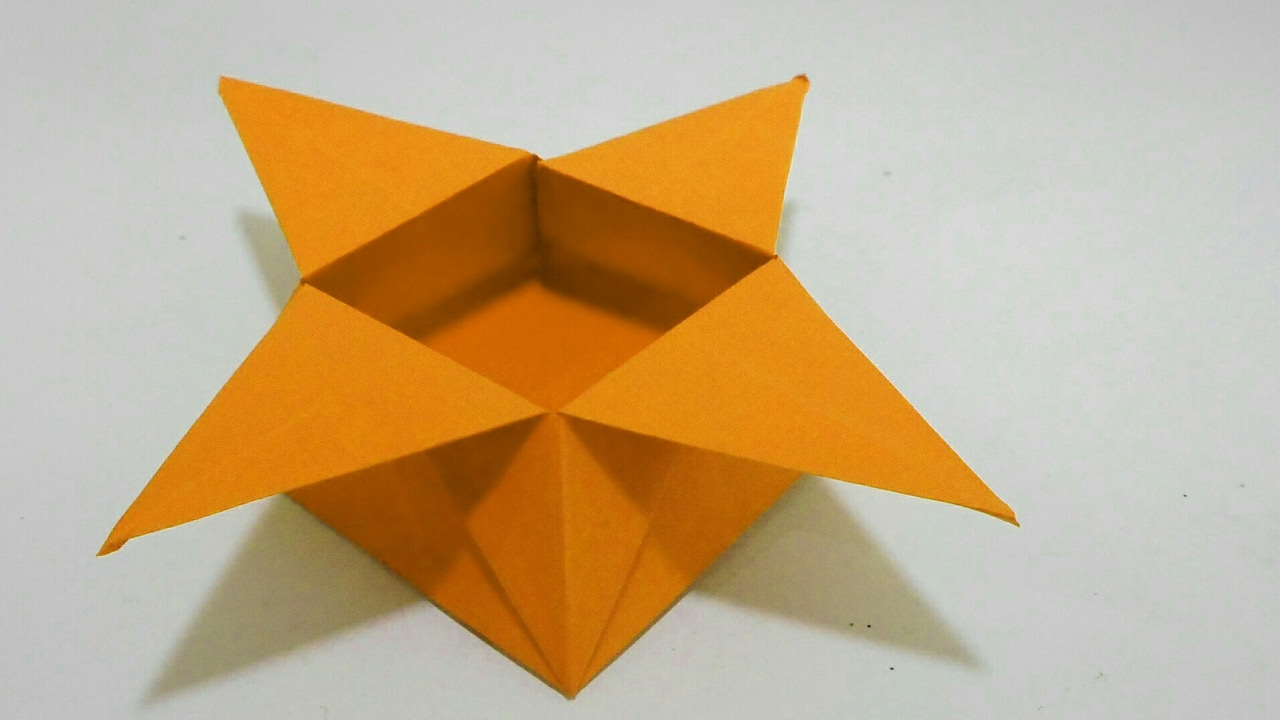 how to make origami star box youtube