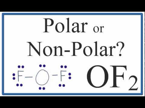 Is Of2 Polar Or Nonpolar Oxygen Difluoride Youtube