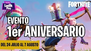 FIRST ANNIVERSARY EVENT (PATCH 5.1) FORTNITE SAVE THE WORLD SPANISH NEWS
