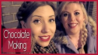 Chocolate Making with Louise Pentland | Collabmas Day 7 (AD)
