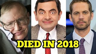 10 Hollywood Celebrities Who Died In 2018