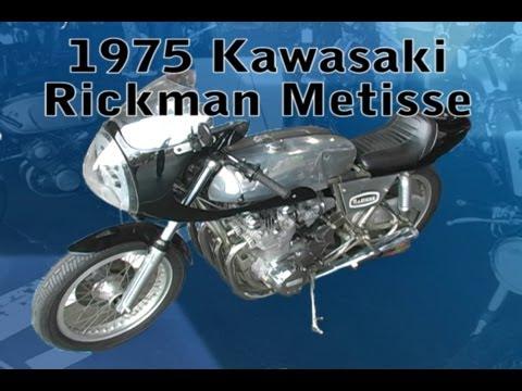 Clymer Manuals Kawasaki Rickman Metisse Classic Vintage Antique Retro Motorcycle Cafe Racer Video