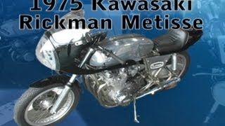 Clymer Manuals Kawasaki Rickman Metisse Classic Vintage Antique Retro Motorcycle Cafe Racer Video