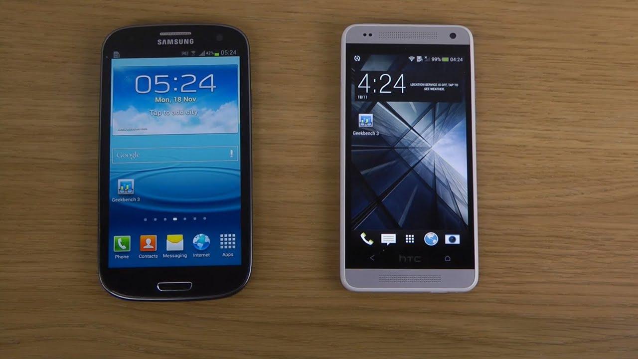 Samsung Galaxy S3 vs. HTC One Mini - Benchmark Speed ...
