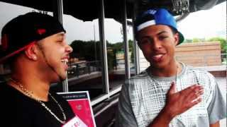 DIGGY SIMMONS (4 LETTER WORD) BEHIND THE SCENES WITH DJ DREAM