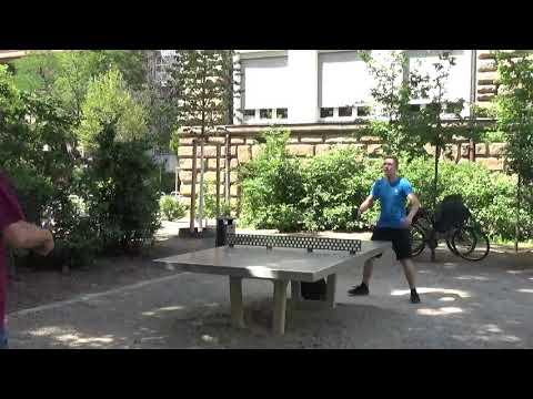 Tischtennis An Der Frauenschule Fuerth  Mit Den Steinb     An Der Steinplatte 20190619  9