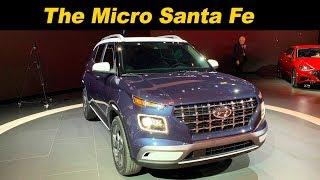 2020 Hyundai Venue First look