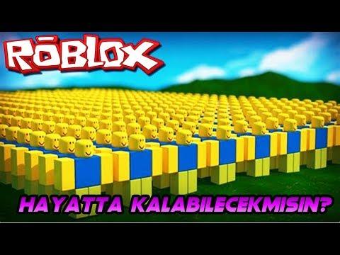 NOOB DÜNYASINDA HAYATTA KAL! - Roblox