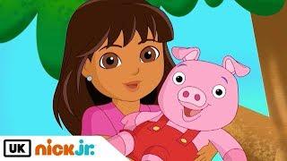 Dora and Friends | Sing Along: Piggies Song | Nick Jr. UK