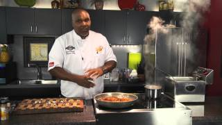 Pork Chops With Fried Cauliflower & Mashed Potatoes - Cooking Today With Chef Brooks